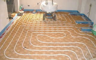 Pavimento radiante - Radiant floor