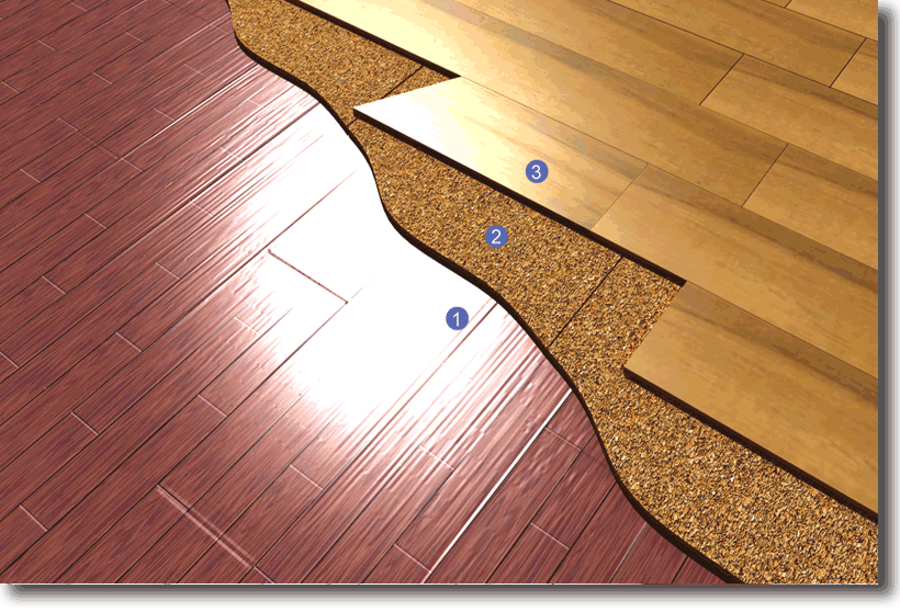 Isolamento termico su pavimento esistente terminali - Piastrellare su pavimento esistente ...